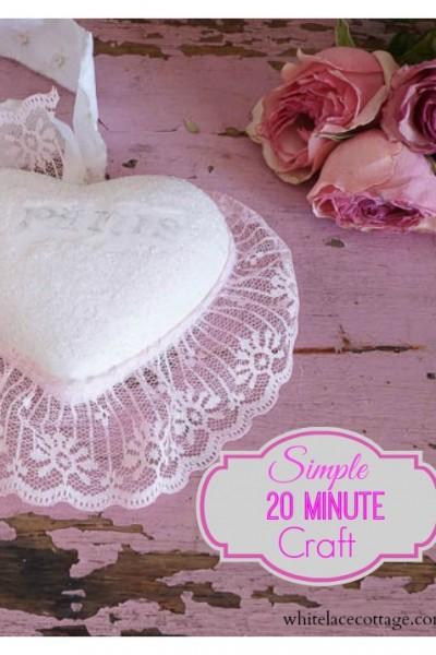 Simple 20 Minute Craft