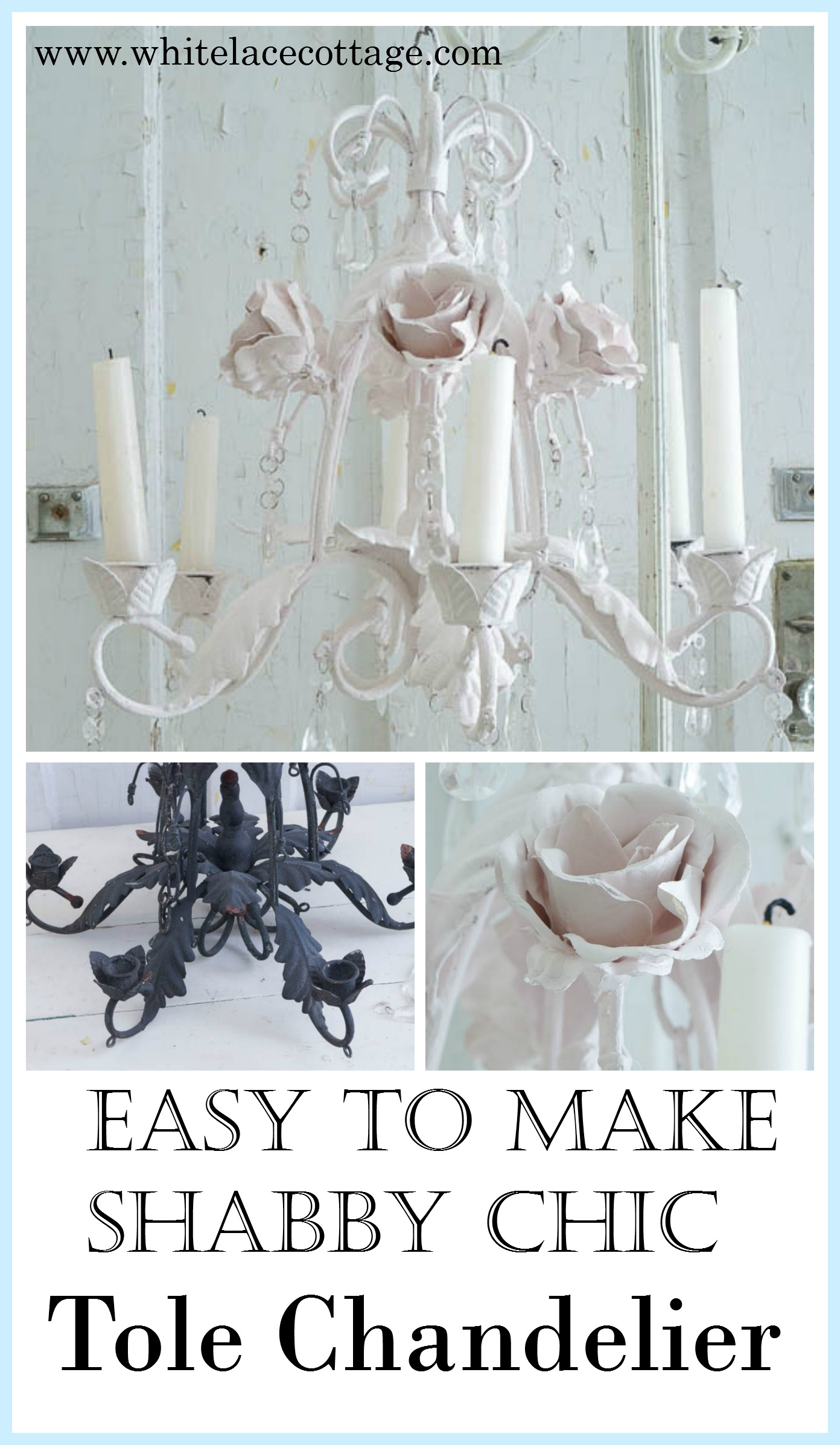 Shabby Chic Chandeliers at Home and Interior Design Ideas