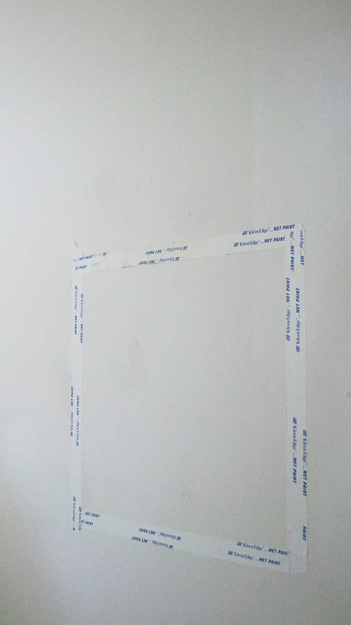 How to create a framed chalkboard wall (1 of 4)