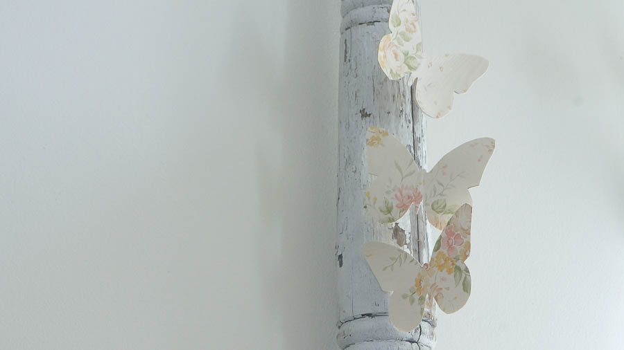 Shabby Chic butterfly spring wall paper decor (14 of 57)