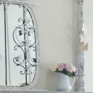 Shabby Chic butterfly spring wall paper decor (26 of 57)