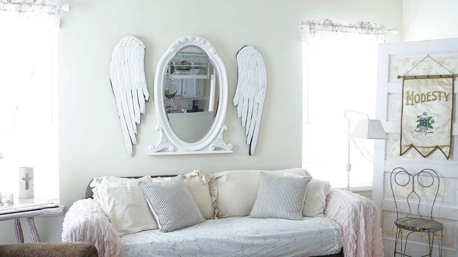 Shabby Chic butterfly spring wall paper decor (42 of 57)