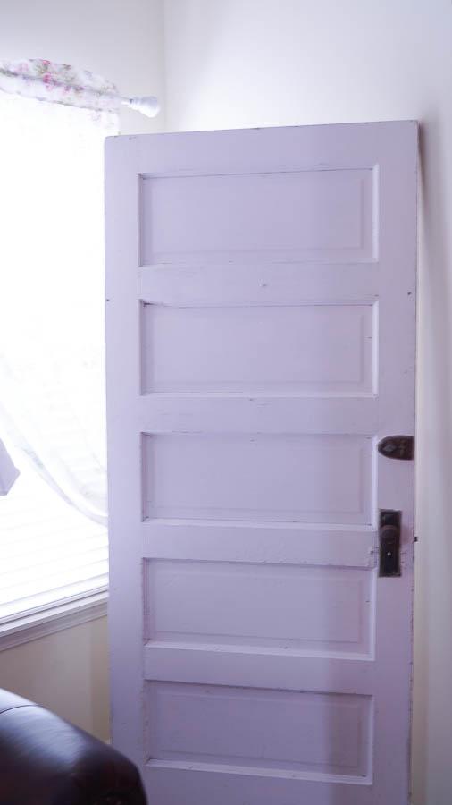 Shabby Chic Wallpaper Door 1 (1 Of 10)