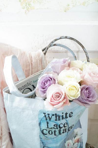 DIY Shabby Inspired Tote Bag