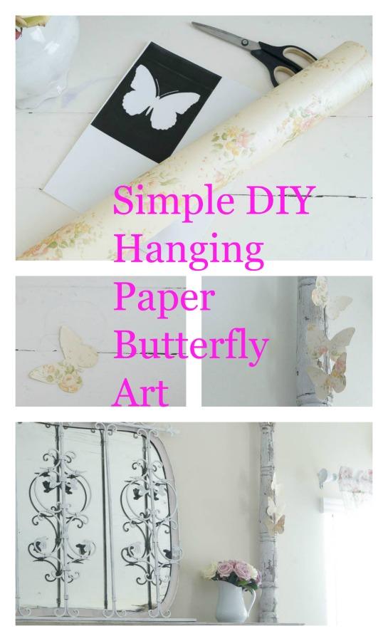 paper butterfly art