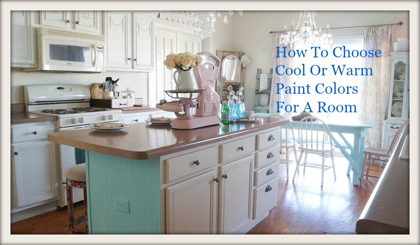 Shabby Chic Colors For 2015 : How to choose warm or cool paint white lace cottage