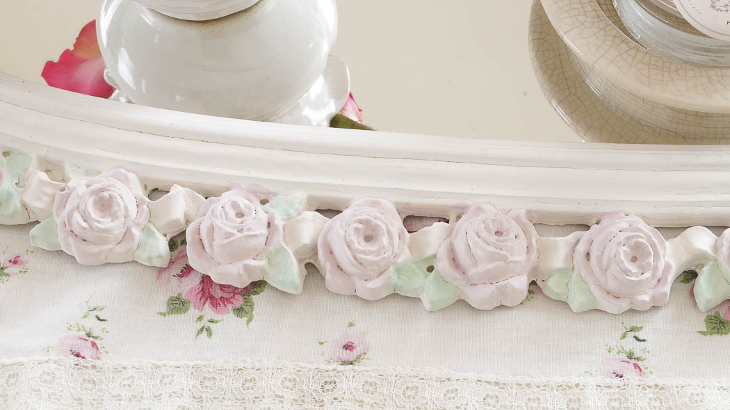 shabby chic rose mirror white lace cottage (27 of 27)