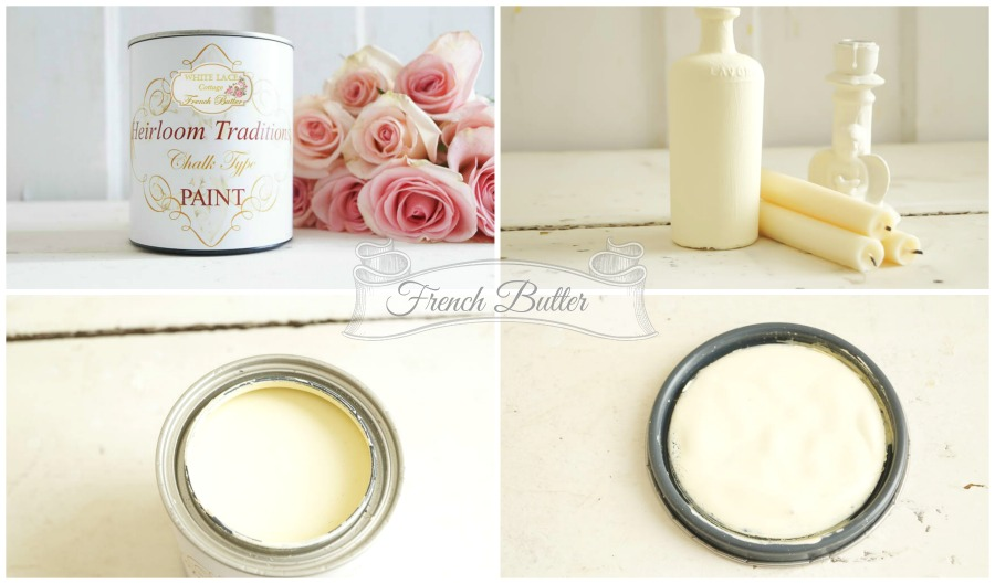french butter heirloom traditions paint white lace cottage