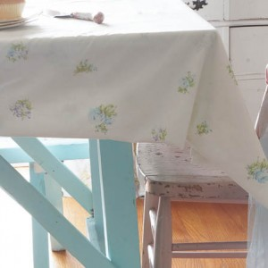 Vintage King Size Shabby Sheet