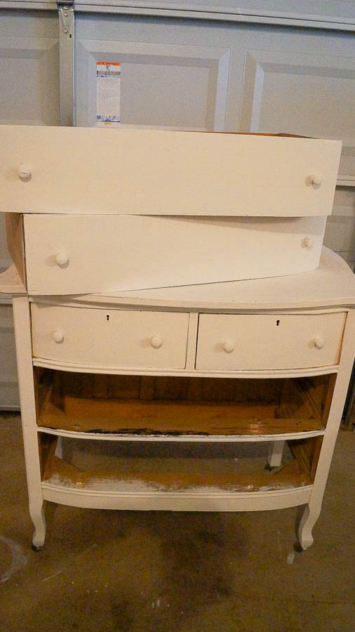 How To Update An Old Piece Of Furniture Gold Wax (1 Of 44)