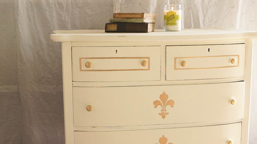 How To Update An Old Piece Of Furniture Gold Wax (21 Of 44)
