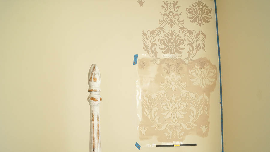shabby chic bedroom cutting edge stencils (14 of 41)