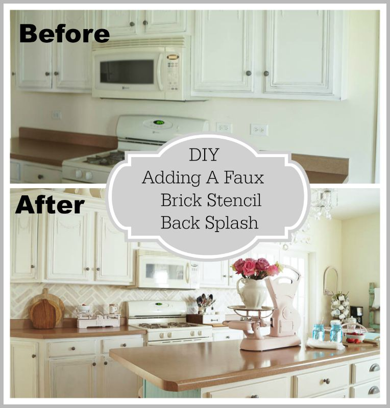 Simple Kitchen Backsplash Design