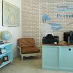 DIY Brick Wall Advertising Room Reveal