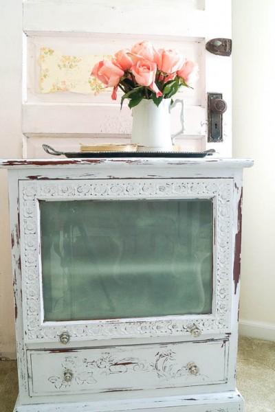 DIY TV Cabinet Turned Wine Cabinet