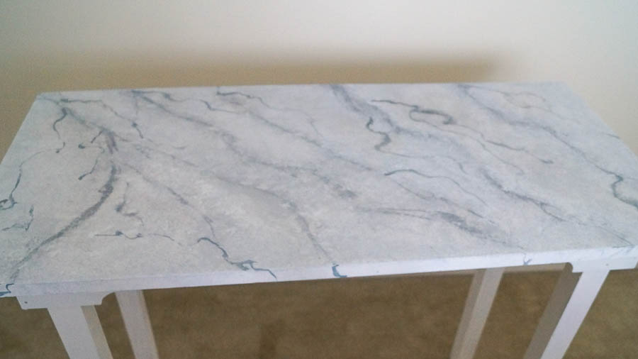 Creating a faux marble table vintage patina (12 of 147)