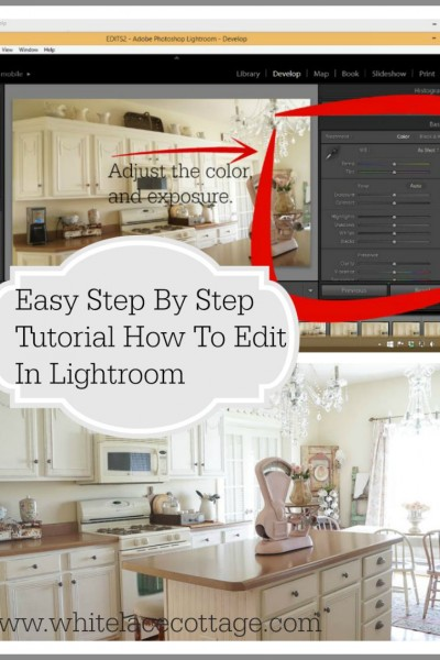 Easy Step By Step Tutorial How To Edit In Lightroom