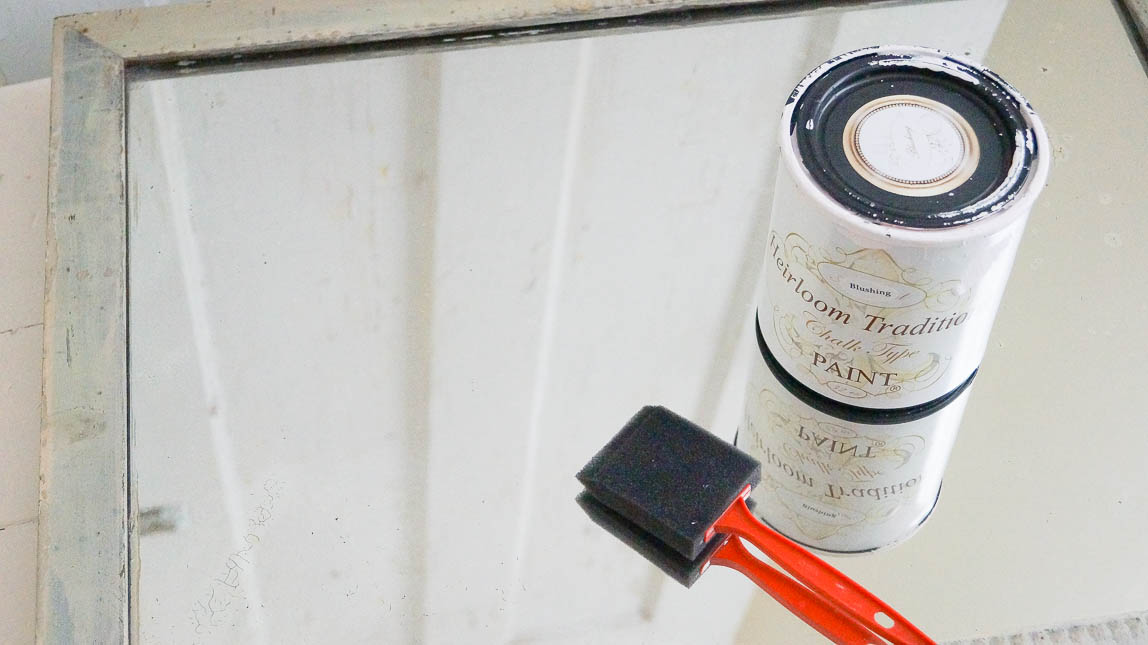 how to apply crackle paint finish