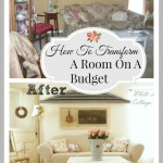 Before And After Room Makeover On A Budget
