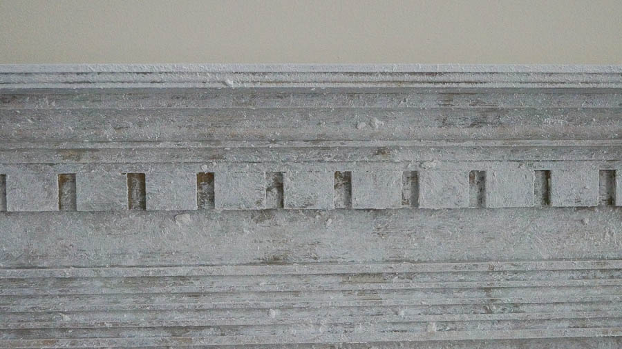 Creating An Aged Patina On A Mantel