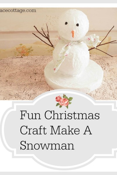 Fun Christmas Craft Snowman
