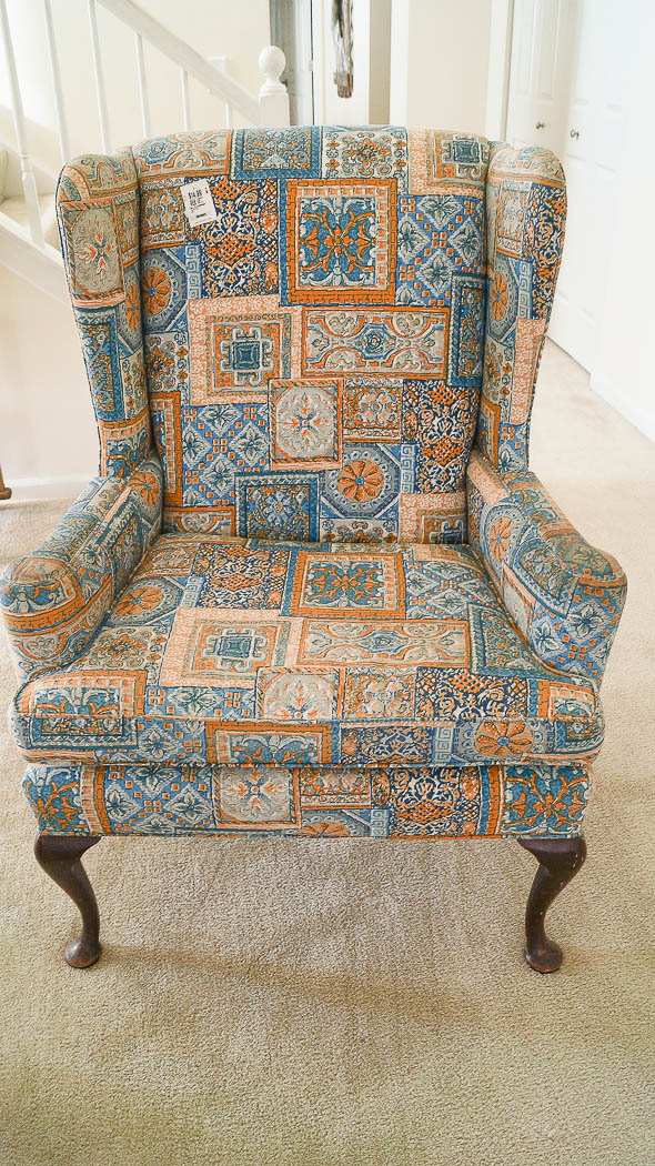 Paint A Fabric Chair