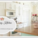 Repainting Kitchen Cabinets And A Giveaway