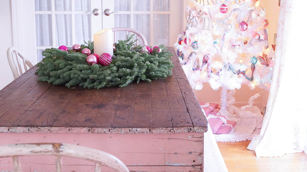 Holiday Kitchen Tour|White Lace Cottage