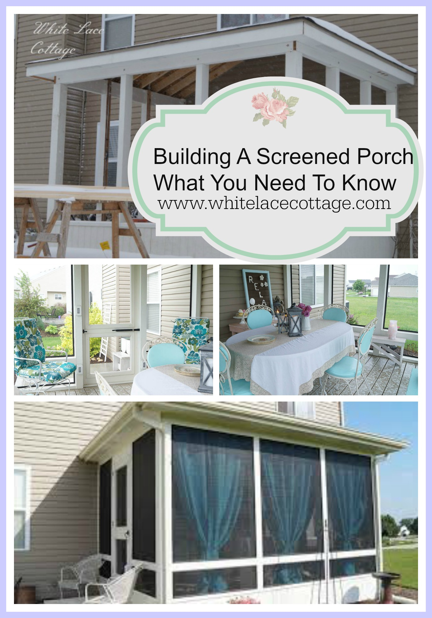 The Porch What We Learned From Building Our Dream. We saved up for many years before buidling our dream porch. If you're thinking of building a porch read this first!