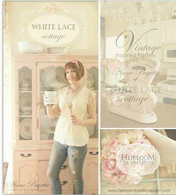 White Lace Cottage Paints