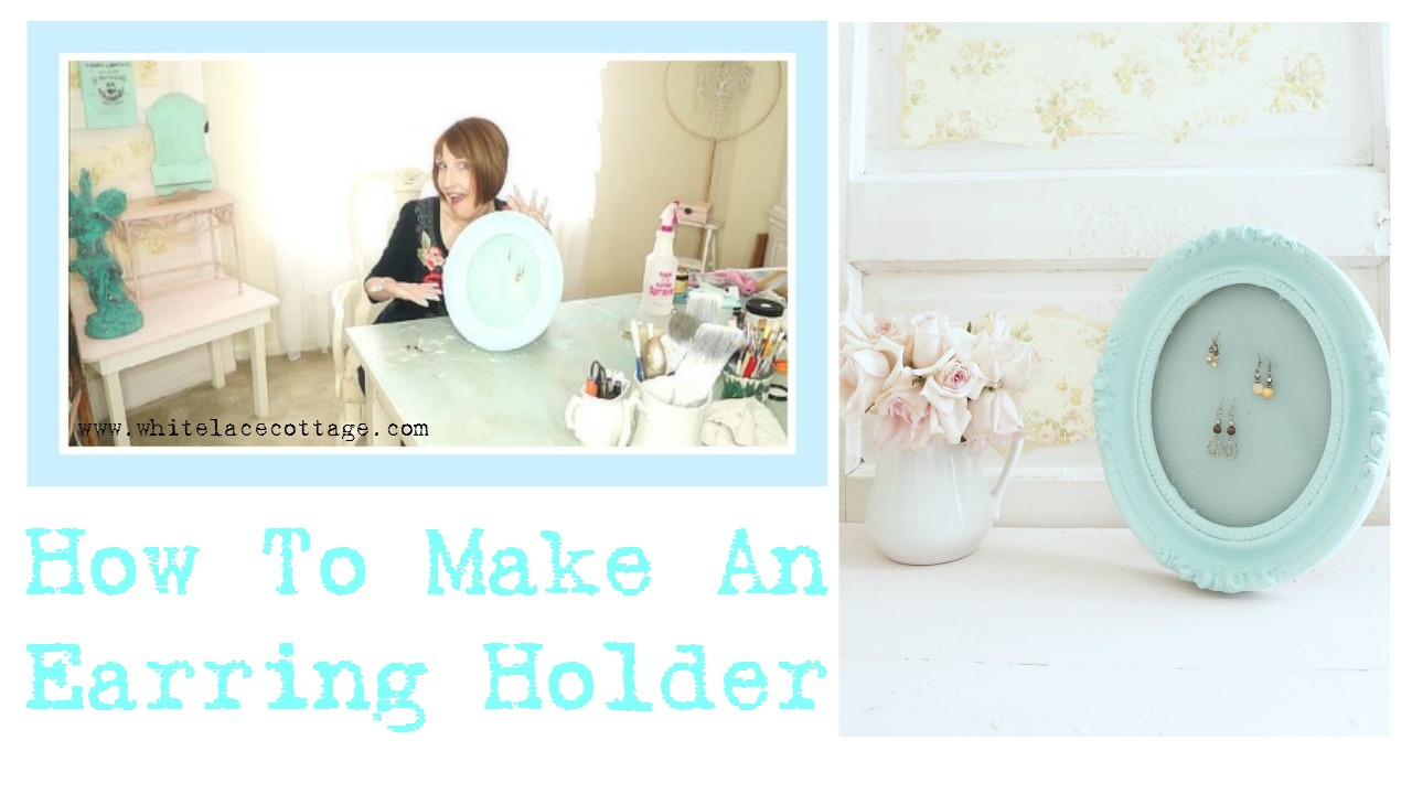 How To Make An Earring Holder