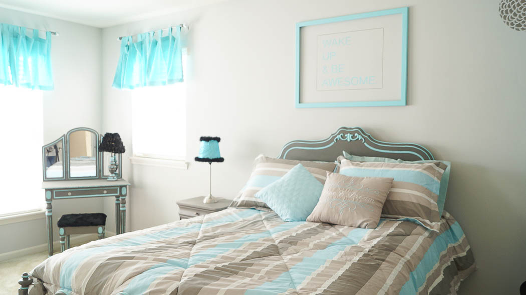 How To Update A Teen Bedroom On A Budget White Lace Cottage