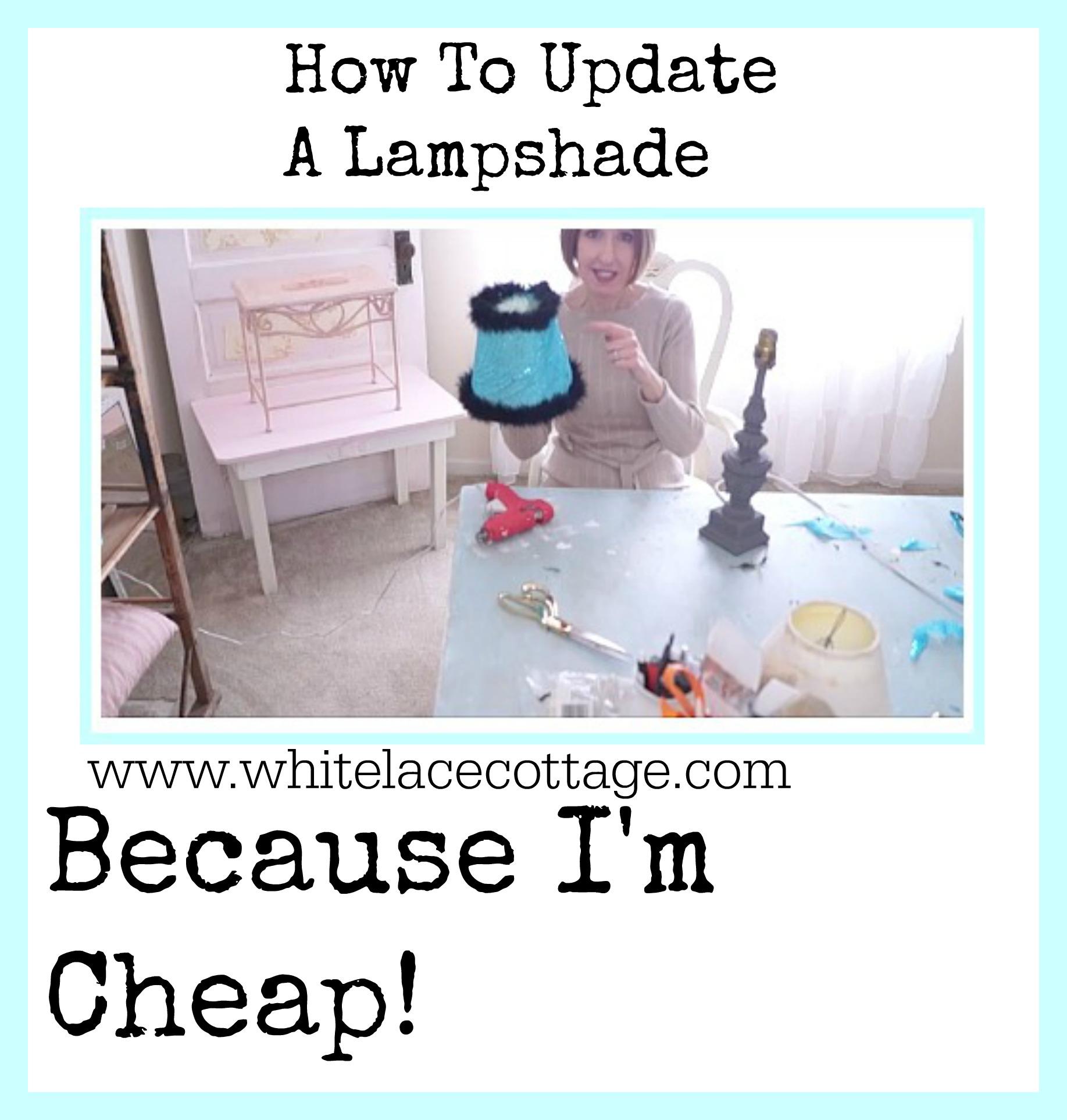 how tu update a lampshade