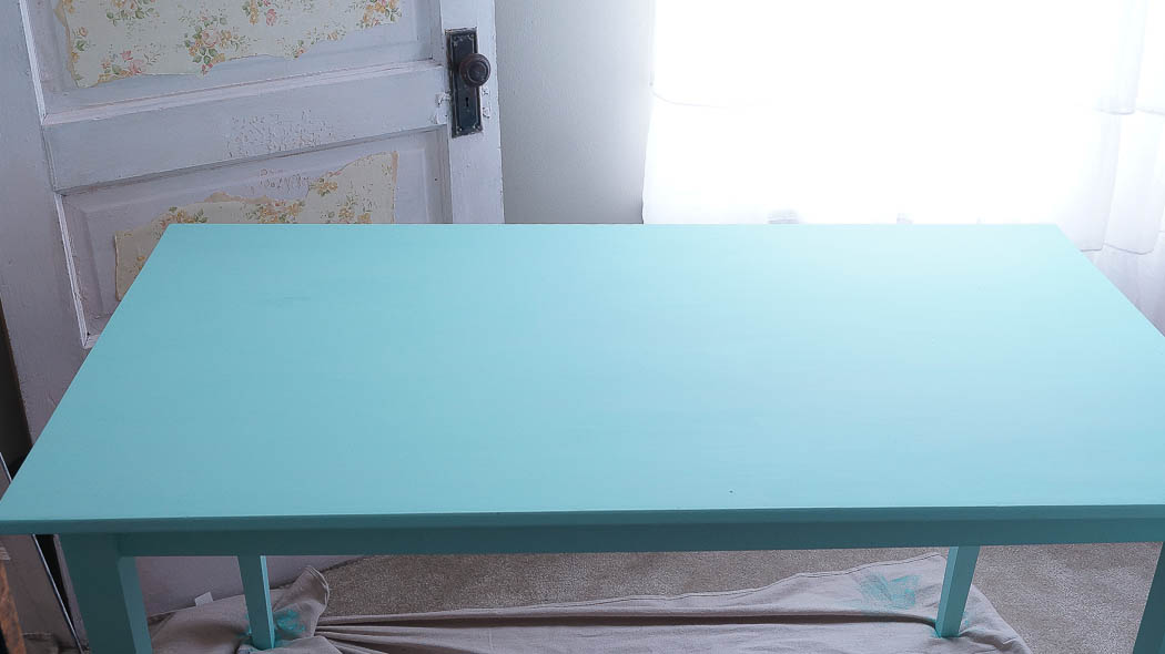 Rustic Farm Table-00652