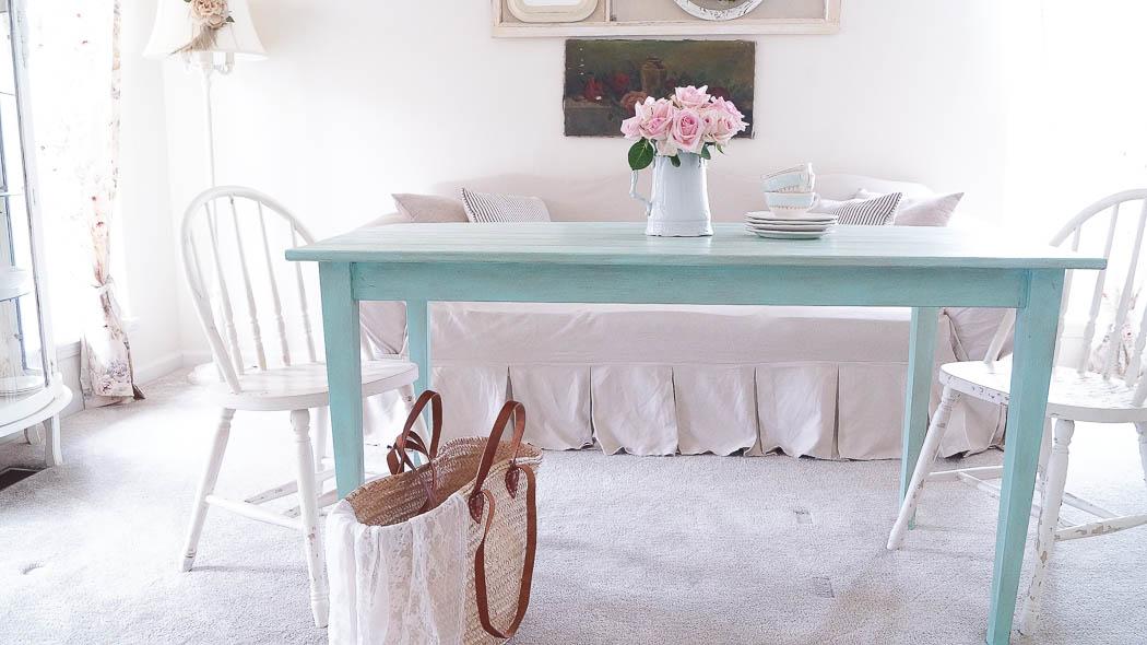 Rustic Farm Table-00705