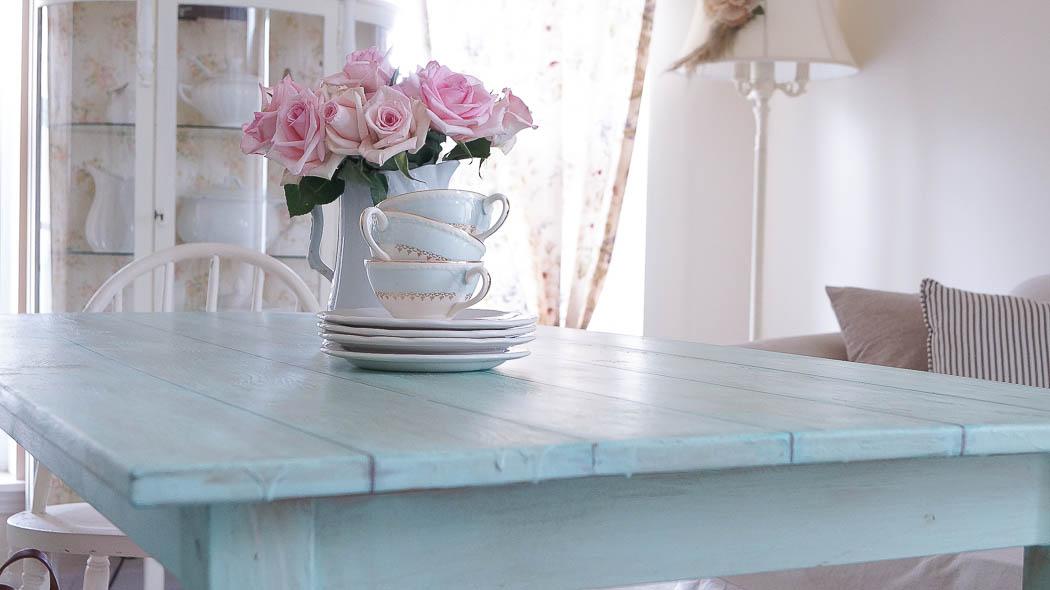 Rustic Farm Table-00736