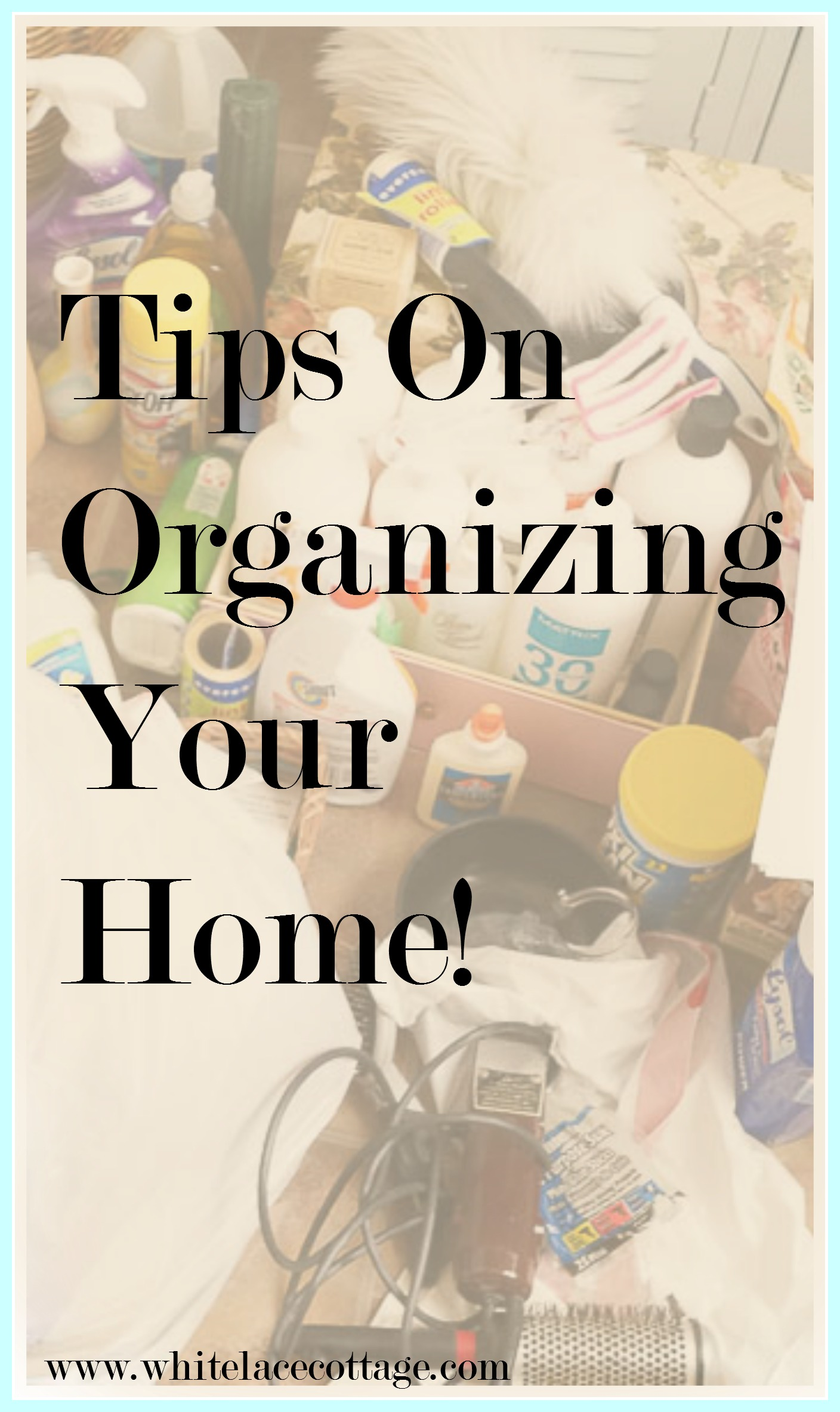 Here are are a few home organization ideas to make your life easier.
