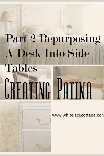 Creating Patina Using Tarnished Silver