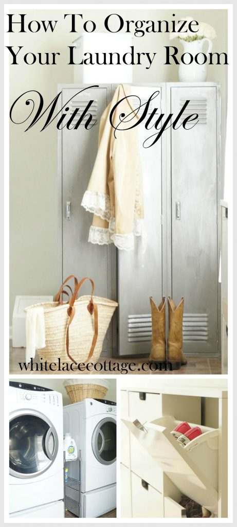 laundry room storage organizing ideas white lace cottage