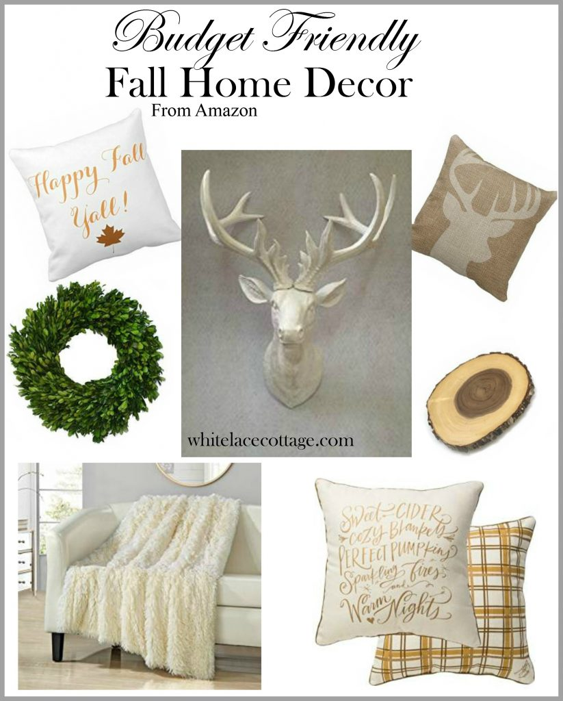 Decorating On A Budget For Fall