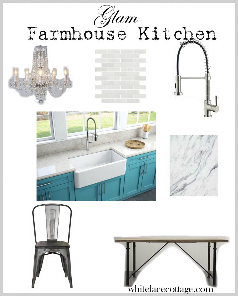 glam farmhouse style