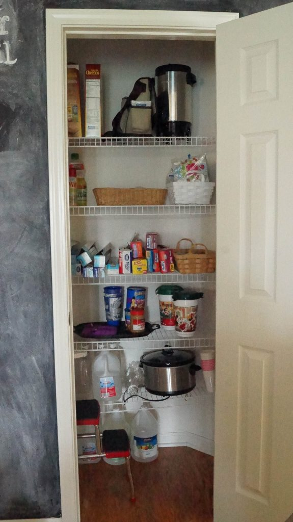Kitchen Pantry Organizing Ideas - White Lace Cottage