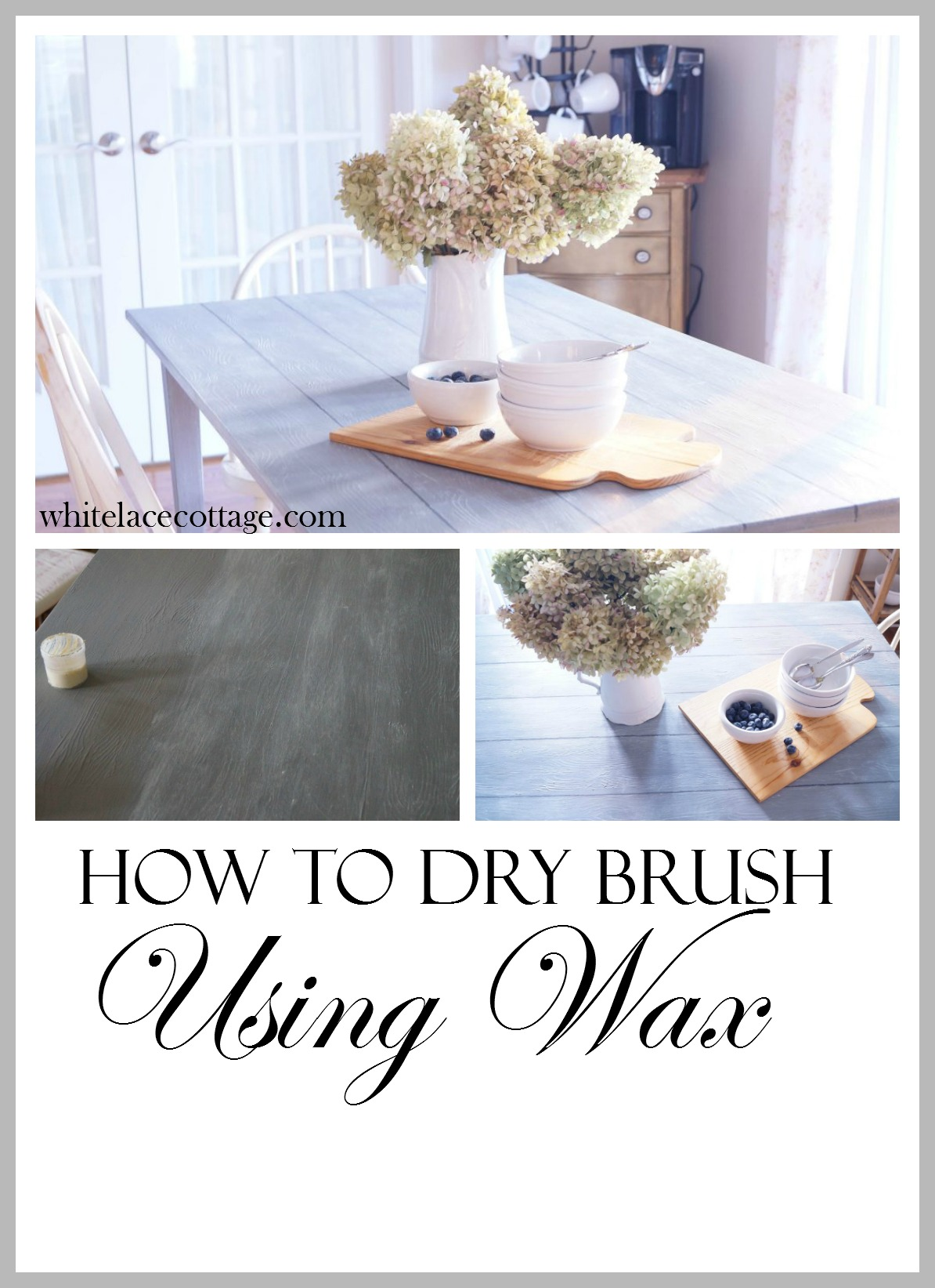 How To Dry Brush Using