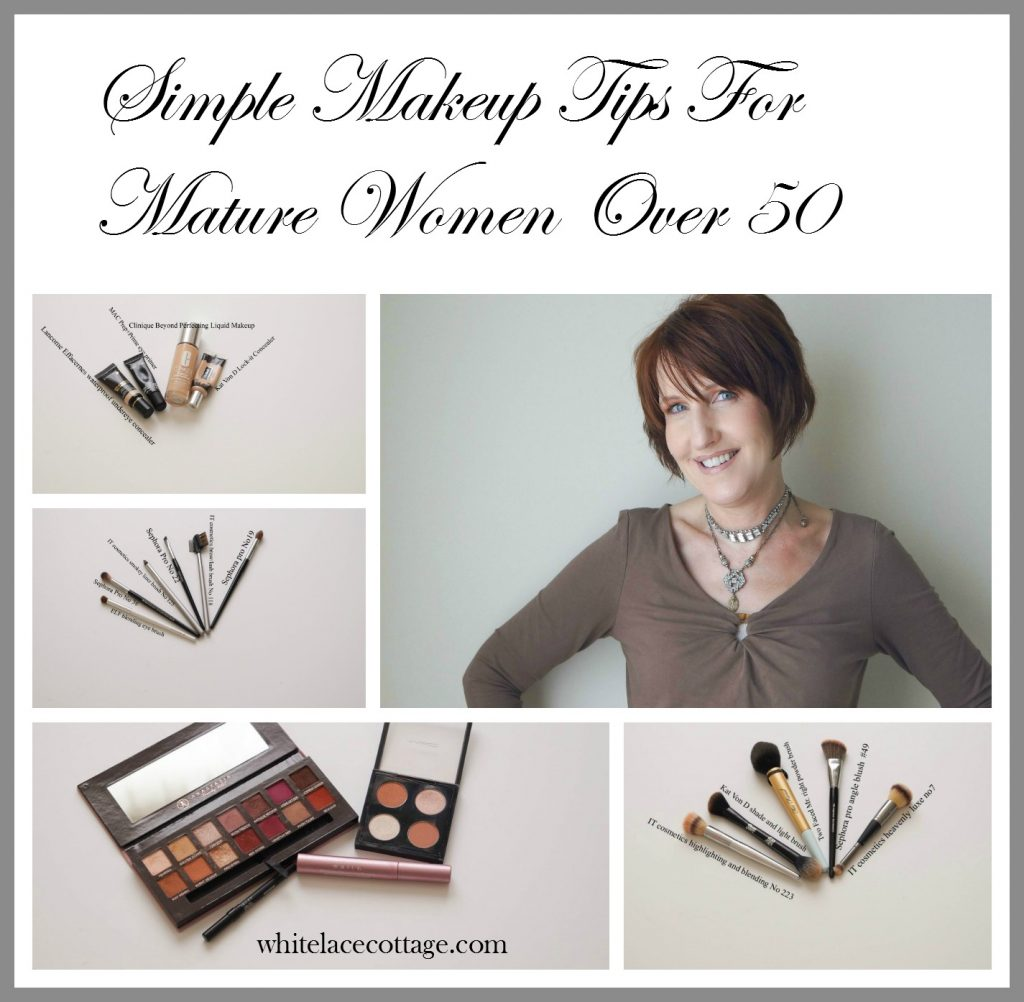 Simple Makeup Tips For Mature Women Over 50 - White Lace ...