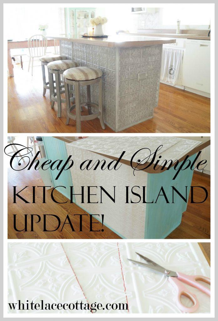 faux-tin-ceiling-tiles-kitchen-island