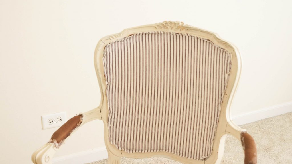 How To Easily Reupholster A French Chair
