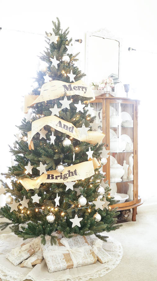 Christmas Tree Garland (Pottery Barn Inspired)
