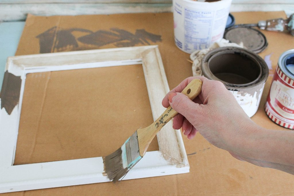 How To Create A Faux Glaze Using Paint