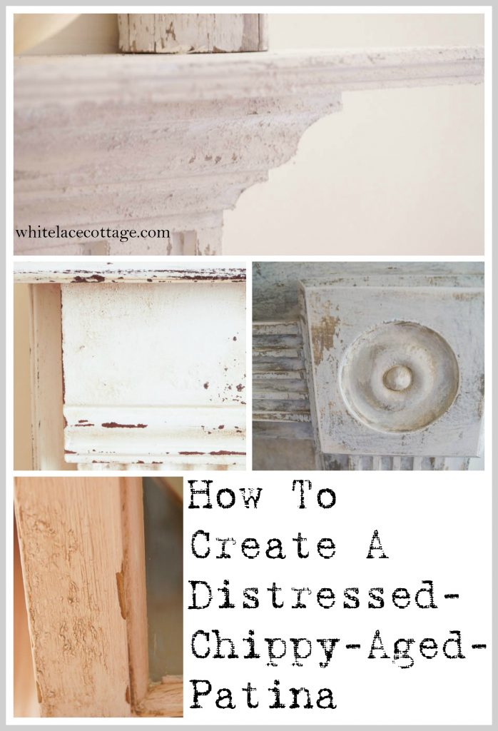 Creating A Layered Distressed Aged Patina