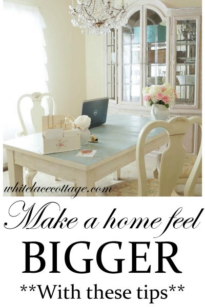 Make A Home Feel Bigger With These Tips